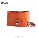 Silicone oil drum heater