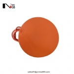 Round silicone rubber heater heating pad