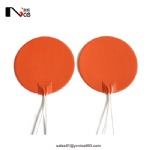 Round silicone heating pad for 3d printer